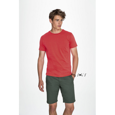 Picture of MARVIN MENS ROUND-NECK FITTED T-SHIRT