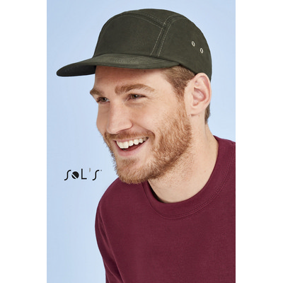 Picture of PARKER 5-PANEL SOLID-COLOUR CAP