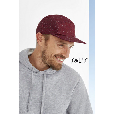 Picture of TAYLOR 5-PANEL POLKA-DOT CAP