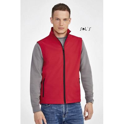 Picture of RACE MENS SOFTSHELL BODYWARMER