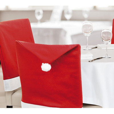 Picture of Chair Cover Santa hat