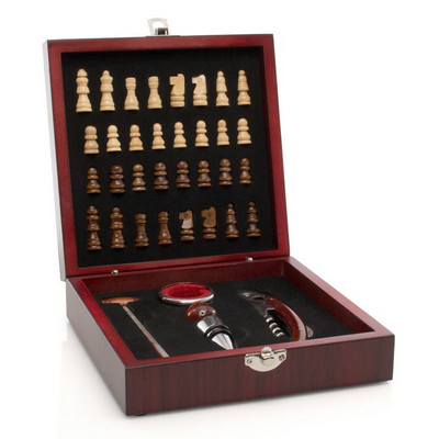 Picture of Wine Set Chess