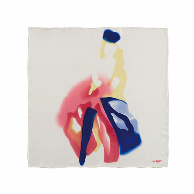 Picture of Cacharel Silk scarf Demoiselle Blanc