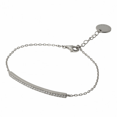Picture of Cacharel Bracelet Courbe Silver