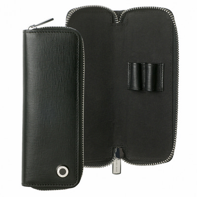 Picture of Hugo Boss Zipped pen pouch Tradition Bla