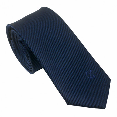 Picture of Christian Lacroix Silk Tie Element Navy