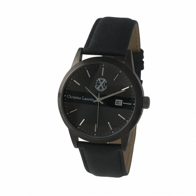 Picture of Christian Lacroix Date watch Ruby Leather