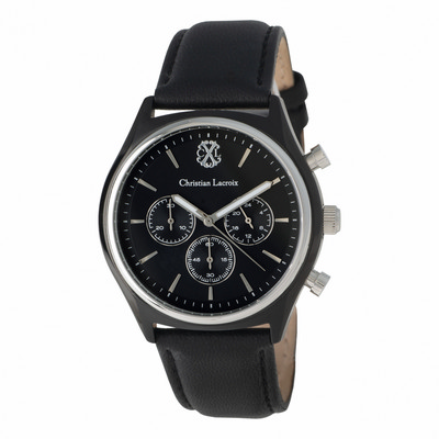 Picture of Christian Lacroix Chronograph More Black
