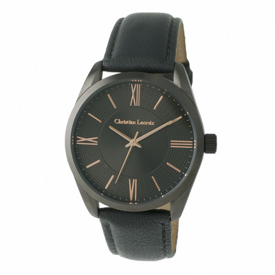 Picture of Christian Lacroix Watch Textus Leather G