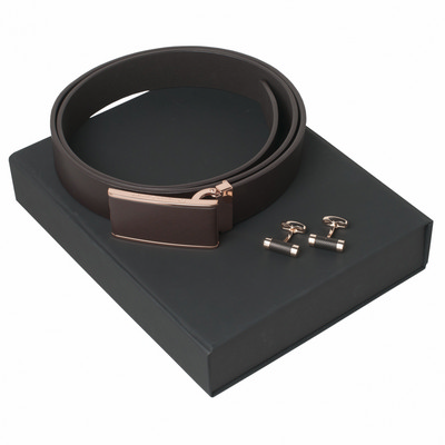 Picture of Christian Lacroix Set Seal Brown (cuffli