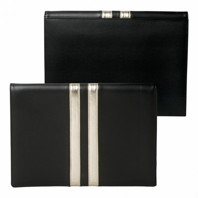 Picture of Ungaro iPad pouch Sienna Black & Gold