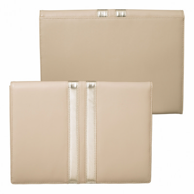 Picture of Ungaro iPad pouch Sienna Nude & Gold