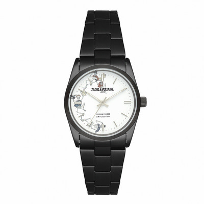 Picture of Zadig & Voltaire Watch Fusion Black Sst-