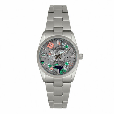 Picture of Zadig & Voltaire Watch Fusion Silver Sst