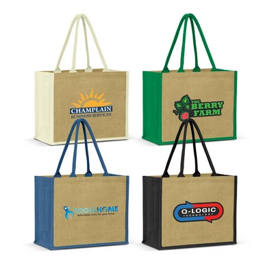 Picture of Torino Jute Tote Bag