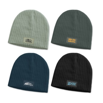 Picture of Nebraska Cable Knit Beanie with Patch