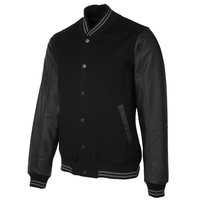Picture of JBs Art Leather Baseball Jacket