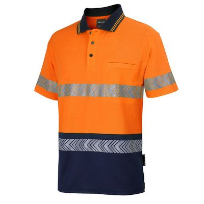 Picture of JBs Hv SS D+N CBack Segmented Tape Polo