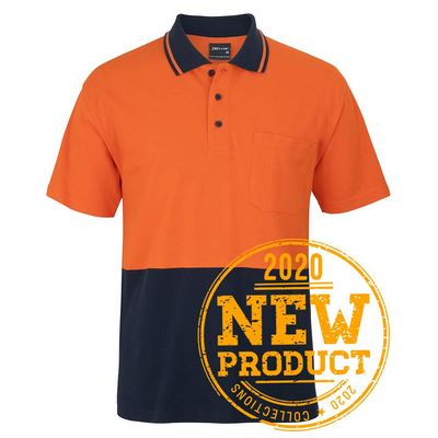 Picture of JBs Hv SS Cotton Pique Trad Polo