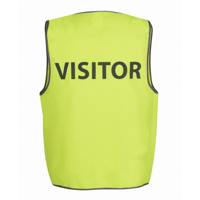 Picture of JBs Hv Safety Vest Print Visitor