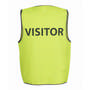 JBs Hv Safety Vest Print Visitor