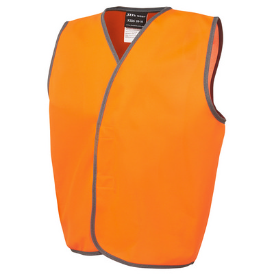 Picture of JBs Hv Kids Safety Vest Lime - 0-02