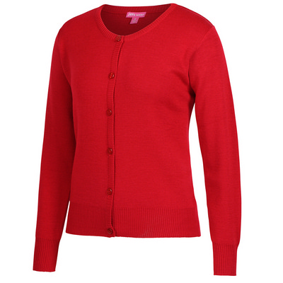 Picture of JBs Ladies Corporate Crew Neck Cardigan