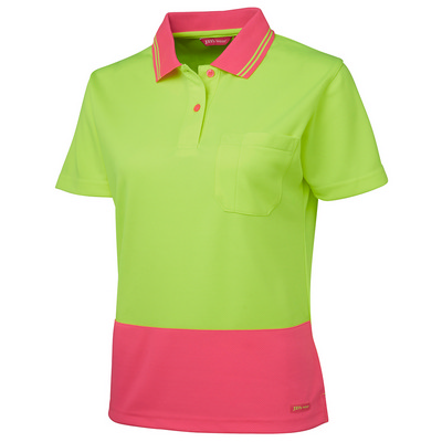 Picture of JBs Ladies Hv SS Comfort Polo