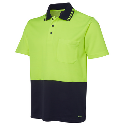 Picture of JBs Hv Non Cuff SS Cotton Back Polo
