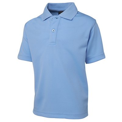 Picture of Podium Kids SS Poly Polo