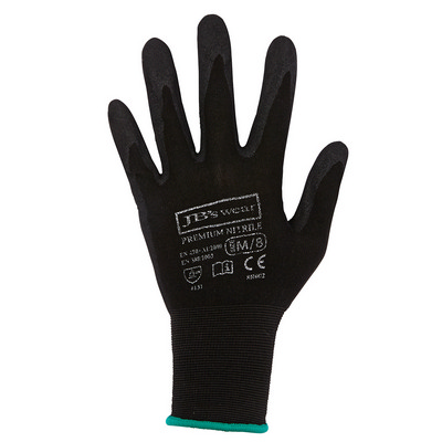 Picture of JBs Premium Black Nitrile Brthable Glove