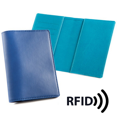 Picture of Deluxe Passport Wallet with RFID Protect