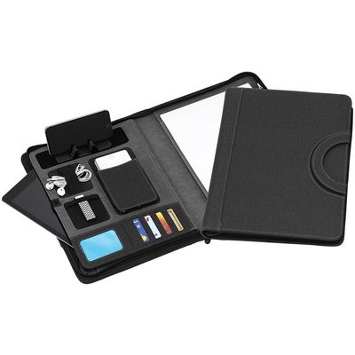 Picture of StylTEK A4 Zip Tech Compendium with Hand
