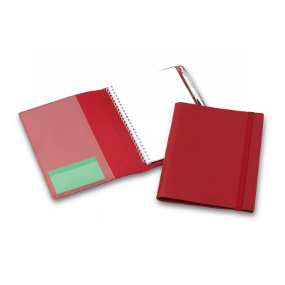 Picture of Deluxe Red Elastic Closure A5 Refillable