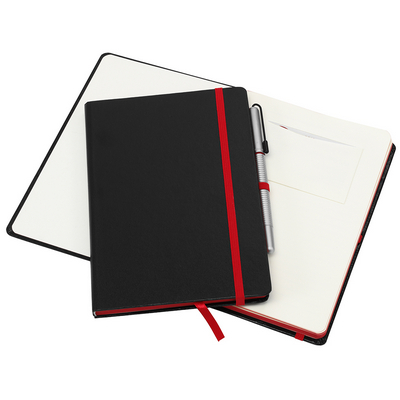 Picture of A5 Journal with Red Highlights