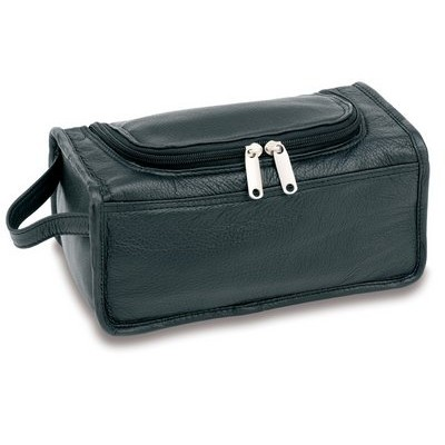 Picture of Premium Leather Unisex Toiletry Bag