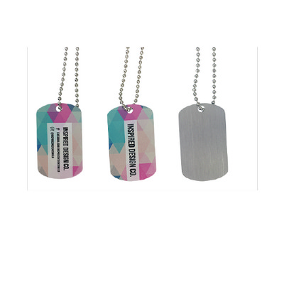Picture of Dog Tag Local Full Colour Print