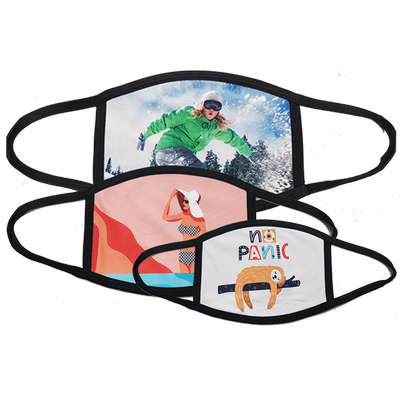 Picture of Sublimated Face Protection Mask