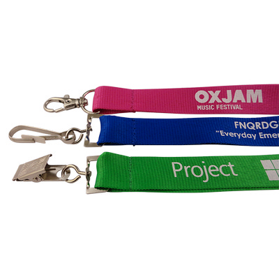 Picture of Lanyard Aquarius Budget 20mm PRINTED
