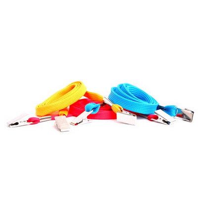 Picture of Leo Plain 10mm Lanyard with Double Allig