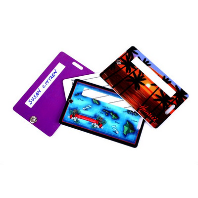 Picture of Secure Luggage Tag Credit Card Style wit