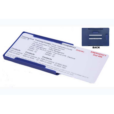Picture of Rigid Blue Proximity or Multiple Card Ho