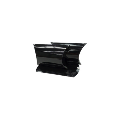 Picture of Small Gloss Black Pillow Box Printed
