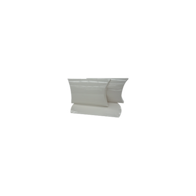 Picture of X Small White Gloss Pillow Box Printed