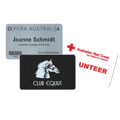 Picture of Standard Plastic Small Name Tag Gloss