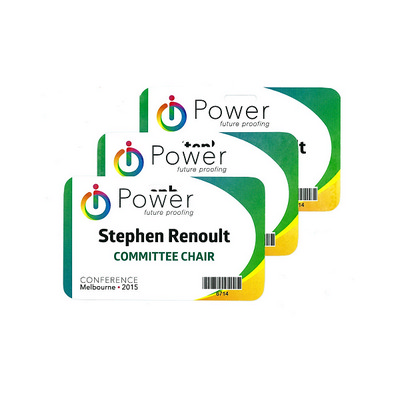 Picture of Pocketless Laminated Name Tags - Small