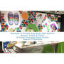 Sublimated Custom Print Wall Banner INDE