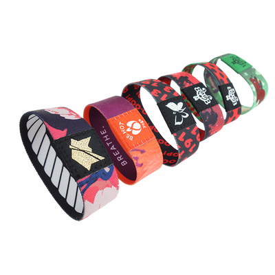 Picture of Sublimated Elastic Wristband 25mm