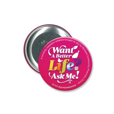 Picture of Button Badge Round - 90mm