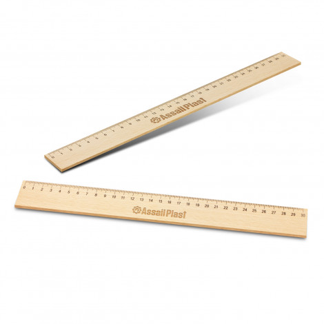 Picture of Wooden 30cm Ruler